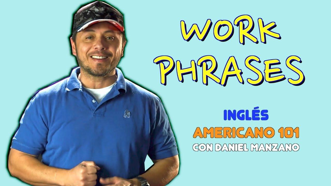 18 FRASES muy UTILES para tu TRABAJO en inglés!!! Comunícate mejor en inglés.