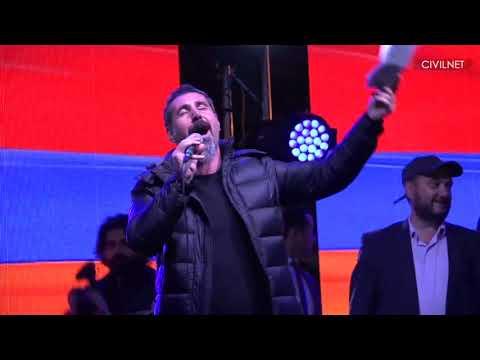 Serj Tankian Sings Bari Arakeel (Armenia 2018)
