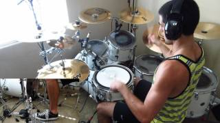 Hey There Mr. Brooks by Asking Alexandria: Drum Cover by Joeym71
