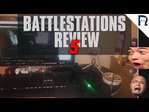 Lirik reviewing viewers' battle stations 5