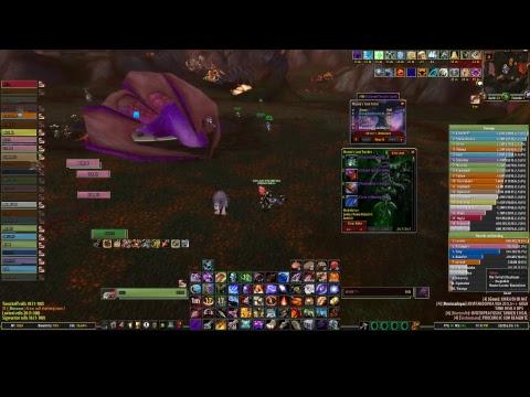 Live WOW - Ruby 25N (Raid 1, 2 ) - Warlock Destro / Hunter Survival