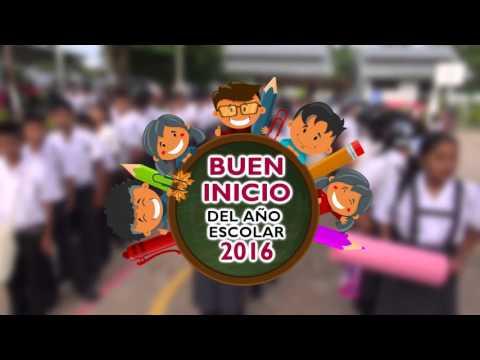 SPOT BUEN INICIO DEL AÑO ESCOLAR 2016