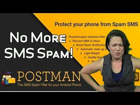 Block SMS Spam with Postman Spam Blocker for Android
