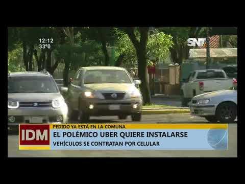 Uber busca instalarse en Paraguay