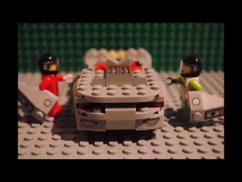 Making the Porsche 918 Spyder  Lego StopMotion