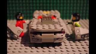 Making the Porsche [918 Spyder] - Lego StopMotion