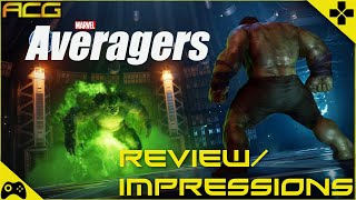 Marvel Avengers Review - Averagers The Game