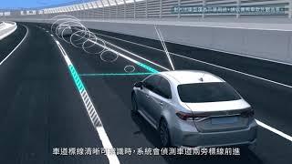 TOYOTA SAFETY SENSE 2.0 智動駕駛輔助系統 | TOYOTA