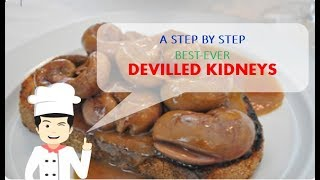 So Simple and Delicious DEVILLED KIDNEYS