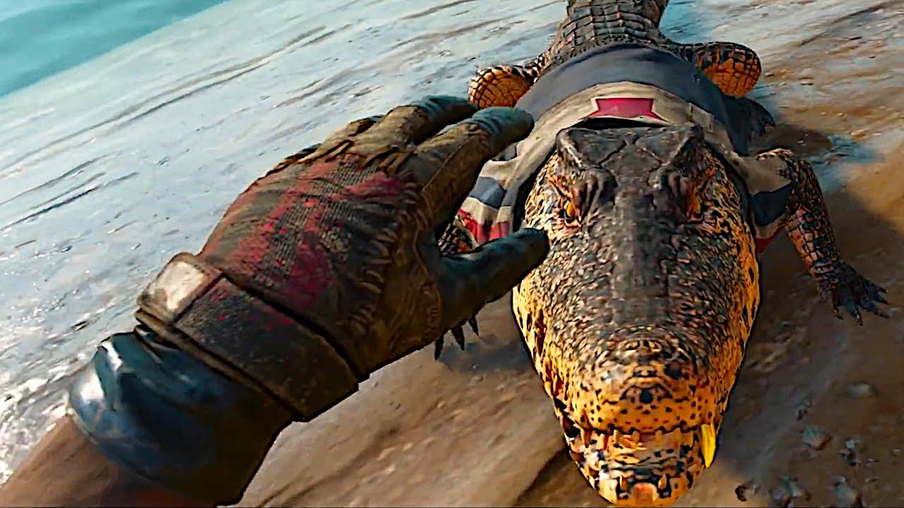 Petting A Crocodile In Far Cry 6