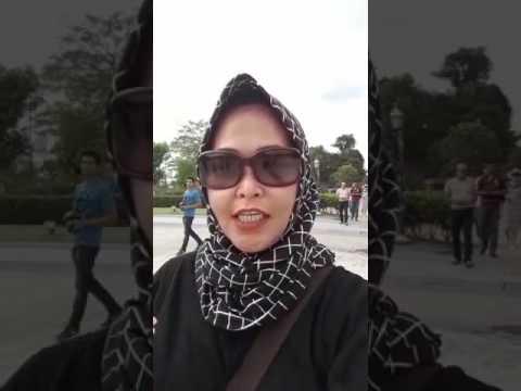 My sister's vacation (Rosa) at King Palace of Malaysia, Kuala Lumpur (30 Jul 2017). Mewah banget..!!
