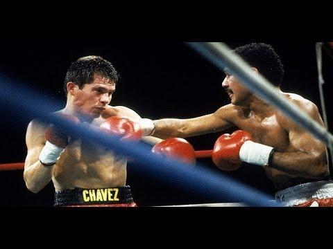 03. Julio Cesar Chavez TKO 6 Ruben Castillo, Apr 1985