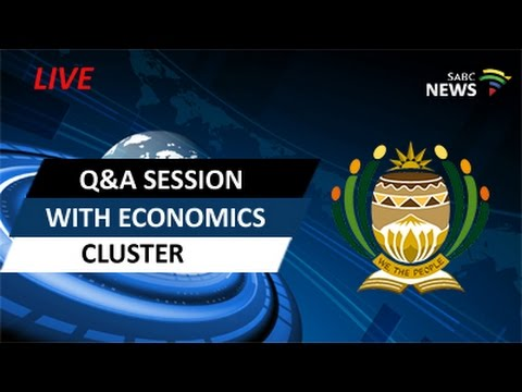 Economics Cluster answers questions in the National Assembly