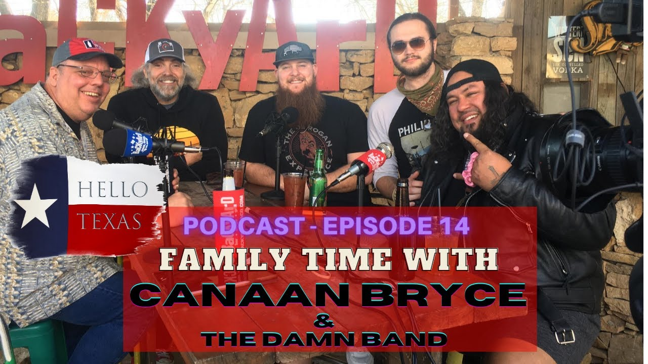 Episode 14 - Family Time with Canaan Bryce & The Damn Band