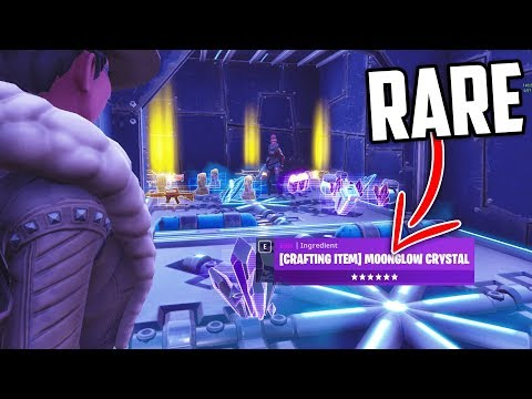 Trading For Moonglow Crystal (RARE ITEM) In Fortnite Save Th