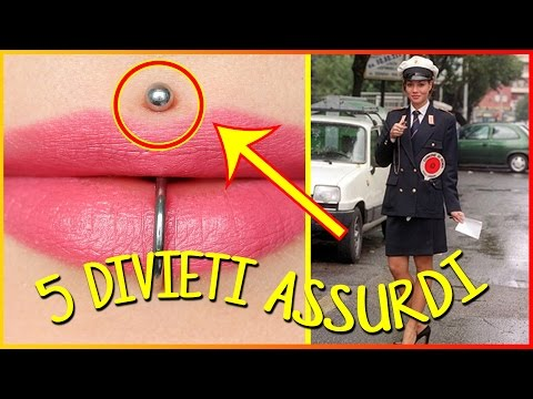 5 DIVIETI E LEGGI ASSURDE IN ITALIA 🚫 DOCTOR VENDETTA