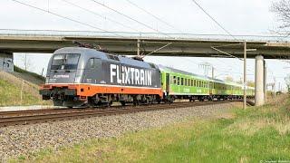 Flixtrain verbremst sich  Locomore Berlin Ostkreuz Stuttgart - Berlin  Leo-Express   27/04/2018