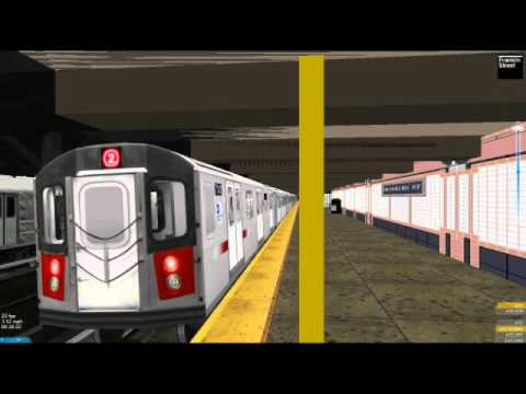 Openbve: 1 train to Van Courtlandt Park 242 street