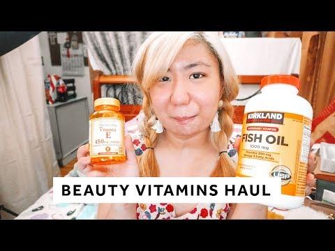 BEAUTY VITAMINS FOR GOOD SKIN HAUL - Vitamin C, Fish Oil, Vitamin E And Glutathione