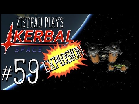 "Kerbal Space Program Ep. 59 - ""Fuel Gemini Station"""
