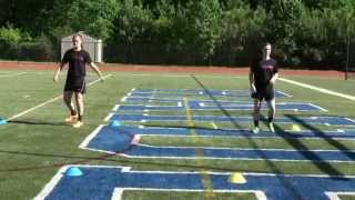 Soccer Skills Training Tutorial - Settling Air Balls & Receiving-Passing Techniques