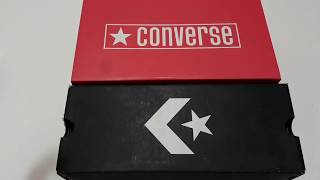 UNBOXING Review Convers 70s hi Black White