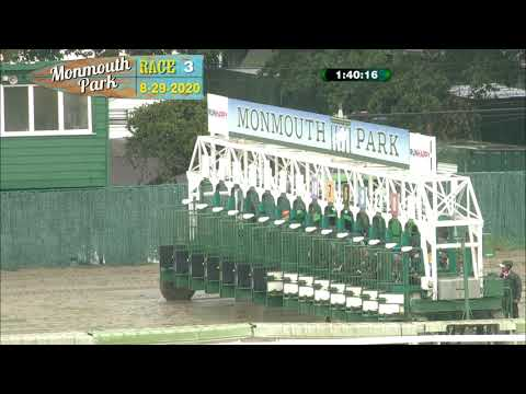 video thumbnail for MONMOUTH PARK 08-29-20 RACE 3