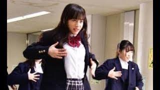 女優でモデルの清原果耶が23日、神奈川・横浜の横浜平沼高校で日本テレ...