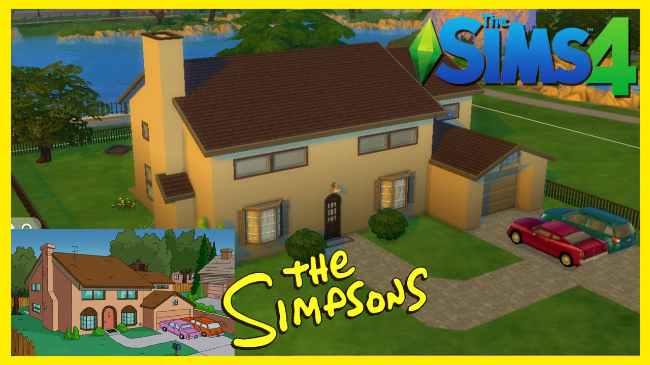 The Sims 4: Speed Build | Simpson House | Los Simpsons