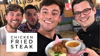 Chicken Fried Steak made by BRITS! | SORTEDfood | 4th JULY | Tom Daley thumbnail
