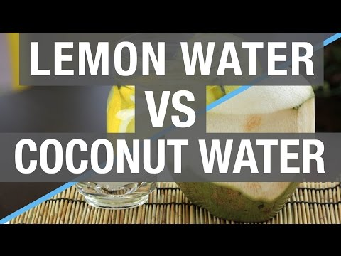 Lemon Water VS Coconut Water