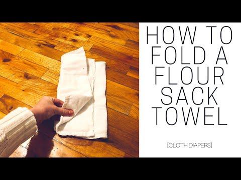 how-to-fold-a-flour-sack-towel-|-cloth-diapers