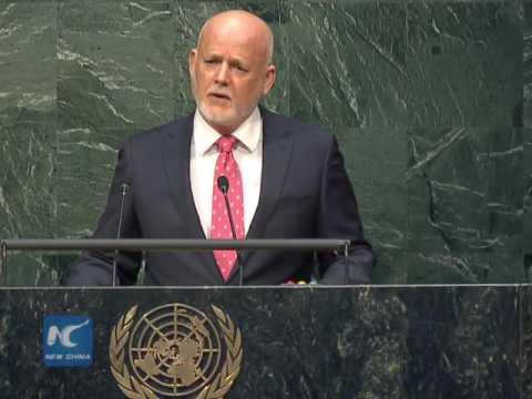 Fijian diplomat Peter Thomson elected UNGA president