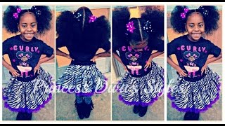 Princess Diva's | Very Easy | Halo Style | Little Girls | Hairstyle