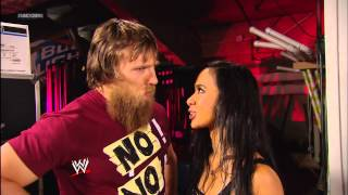 Daniel Bryan and a soaked AJ Lee are at odds again: SmackDown, March 8, 2013