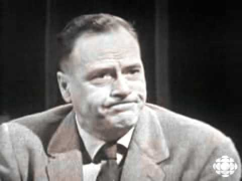 The World is a global village- Marshall McLuhan -1960-05-18-CBC-Explorations