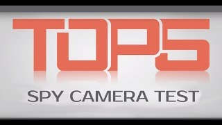 Video TOP 5 Best Spy Camera with WiFi Test 2018 download MP3, 3GP, MP4, WEBM, AVI, FLV Oktober 2018