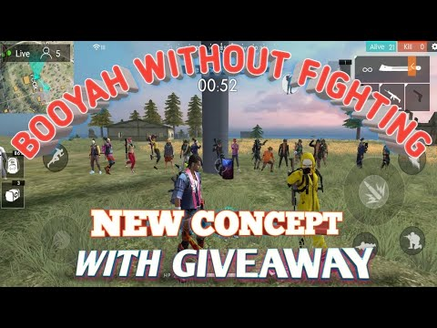 e84d3a6e0f326 🔴LIVE GIVEAWAY | NEW CONCEPT BOOYAH WITHOUT FIGHT | FREE FIRE | HINDI |  BENGALI | ASSAMESE | INDIA
