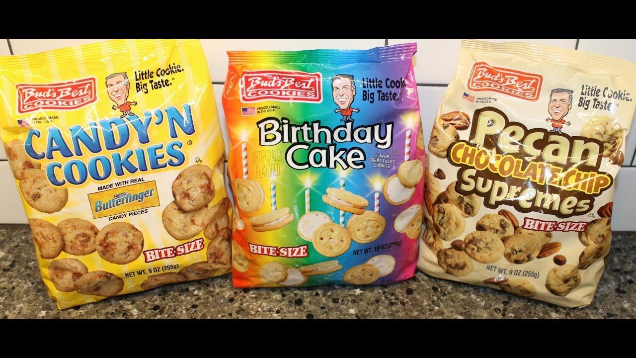 Buds Best Cookies Butterfinger Candy N Cookies Birthday Cake
