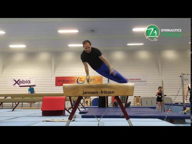 Magyar and Sivado Drills & Exercises | Pommel Horse | Gymnastics