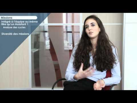 Parole aux Stagiaires - Auditeur - Vidéo - Mazars
