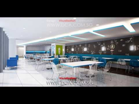 3D RENDERING SERVICES SINGAPORE  | 3D CORPORATE OFFICE DESIGN RENDERING VISUALIZATION