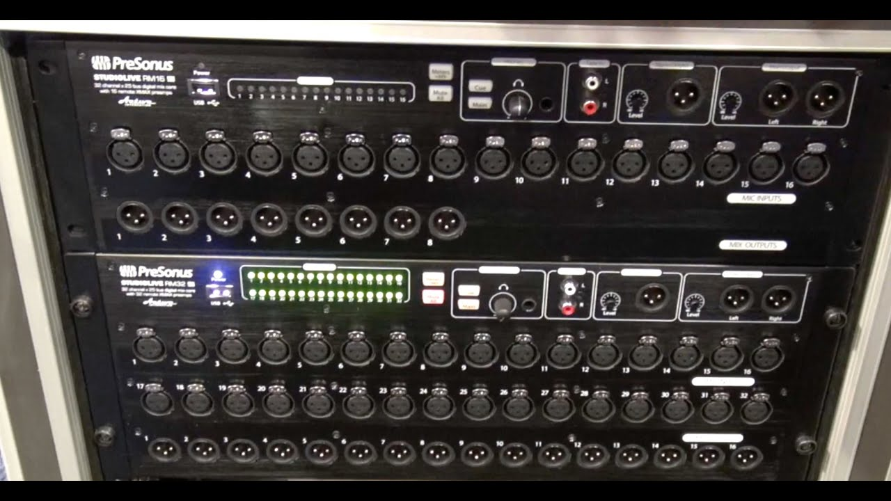 view the mount soundcraft w mixer of digital wireless audio multitrack with rack front and channel