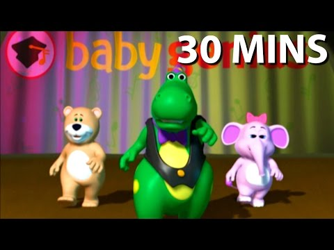DJ Is My Name Song 30 Minutes Full DVD Sing Along | Nursery Rhymes Kids Songs | From Baby Genius