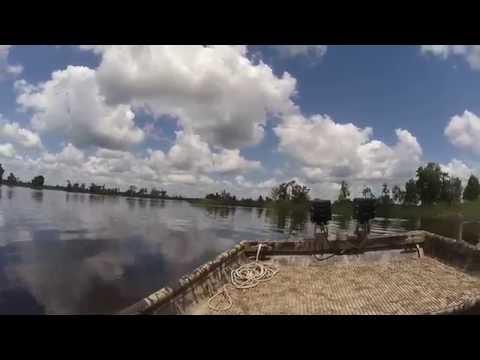 Duck Hunting Lake South Carolina Marsh Testing Drift HD Ghost Helmet Camera