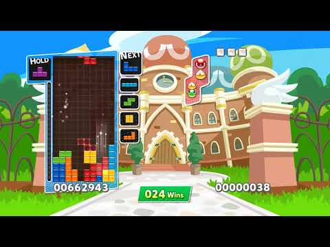 Cold Clear plays Puyo Puyo Tetris until it reaches 50 wins in Endurance mode |