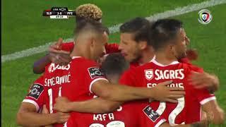 Goal   Golo Seferovic: Benfica (3)-0 Paços de Ferreira (Liga 19/20 #1)