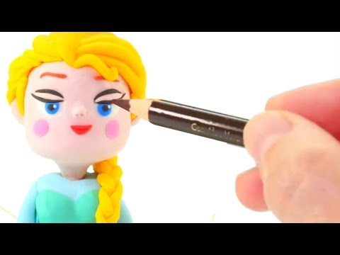 FROZEN ELSA NEW MAKE UP ❤ Superhero Babies, Hulk & Frozen Play Doh Cartoons For Kids