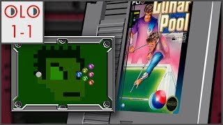 Lunar Pool - NES - Only Level One