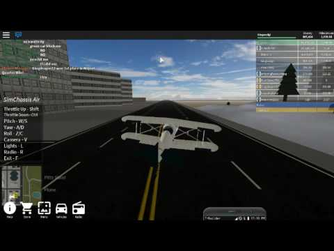 Roblox   Vehicle Simulator   Planes ! So hard to fly !